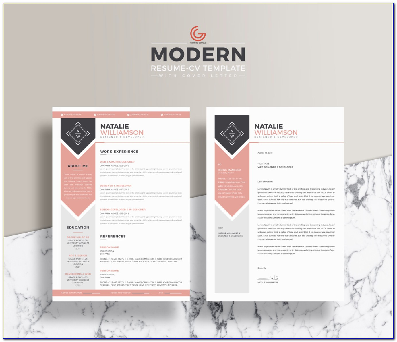 Free Resume Template Docx