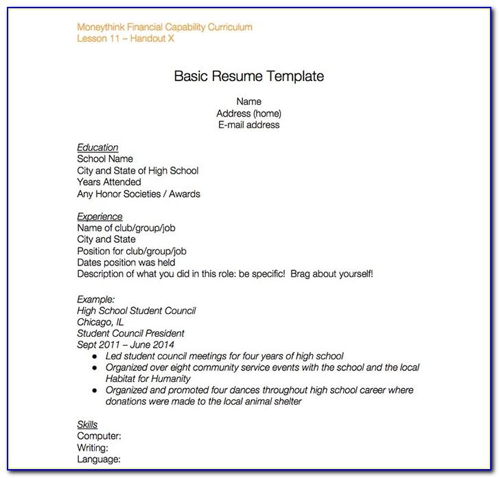 Free Resume Template Google Docs Download