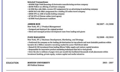 Free Resume Template Maker