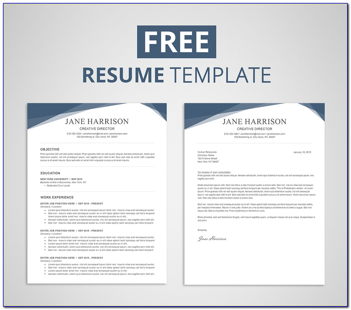 Free Resume Template No Work Experience