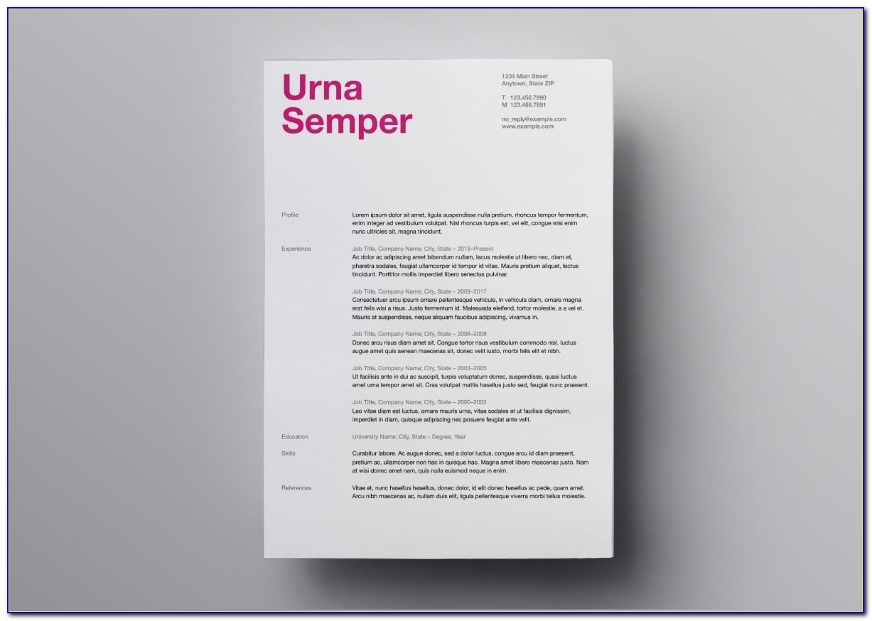 Free Resume Templates Apple Computers