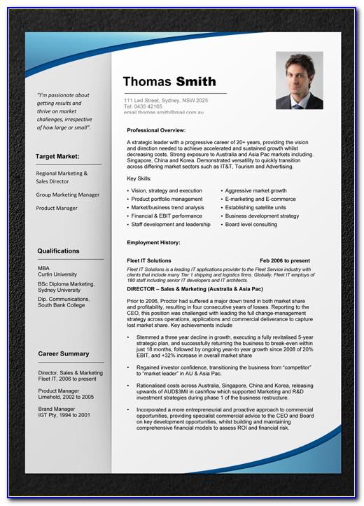 Free Resume Templates Australia 2019