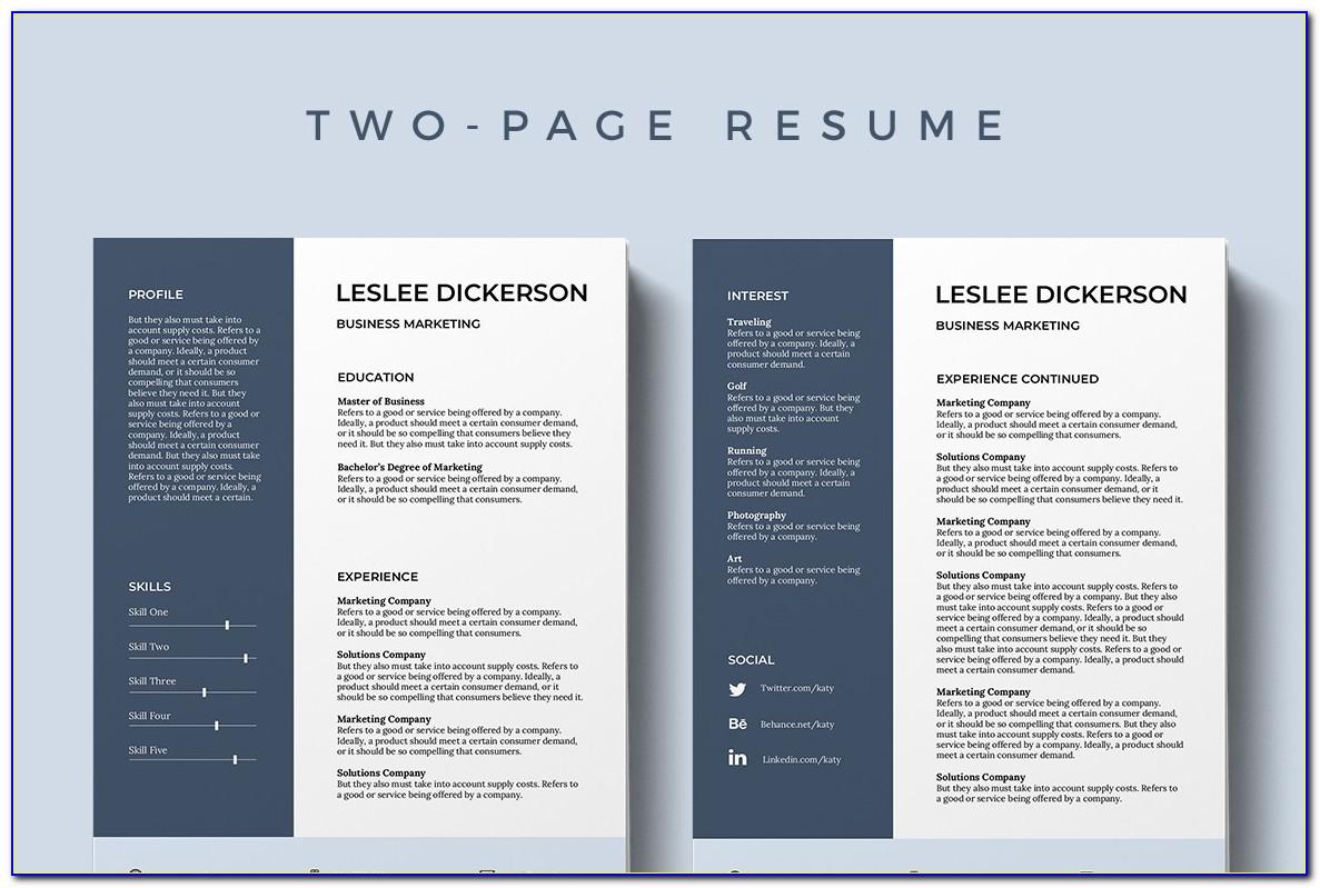 Free Resume Templates Download 2019