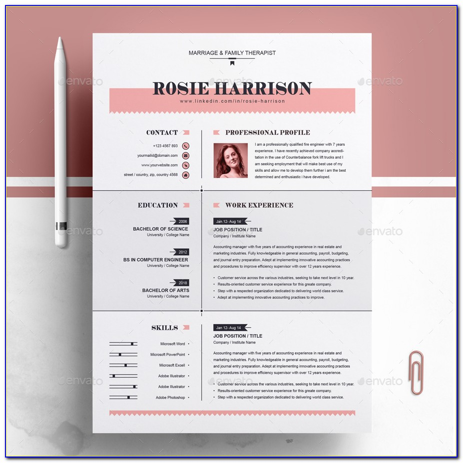 Free Resume Templates Download Open Office