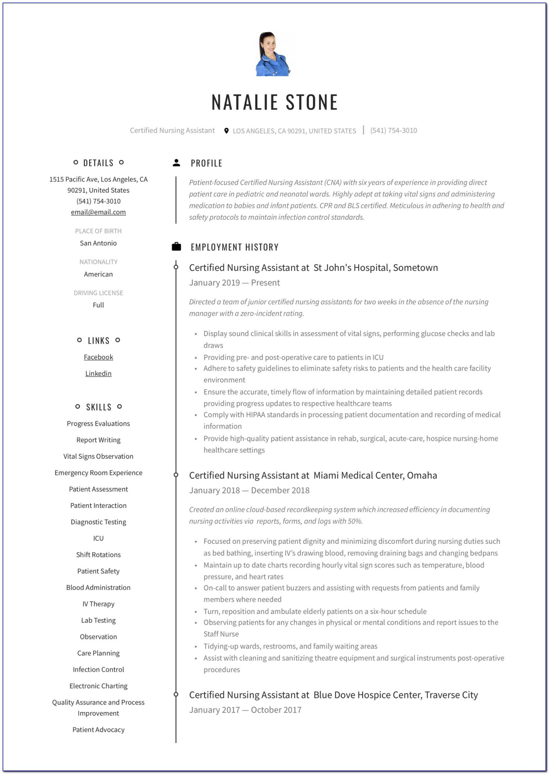 Free Resume Templates For Apache Openoffice
