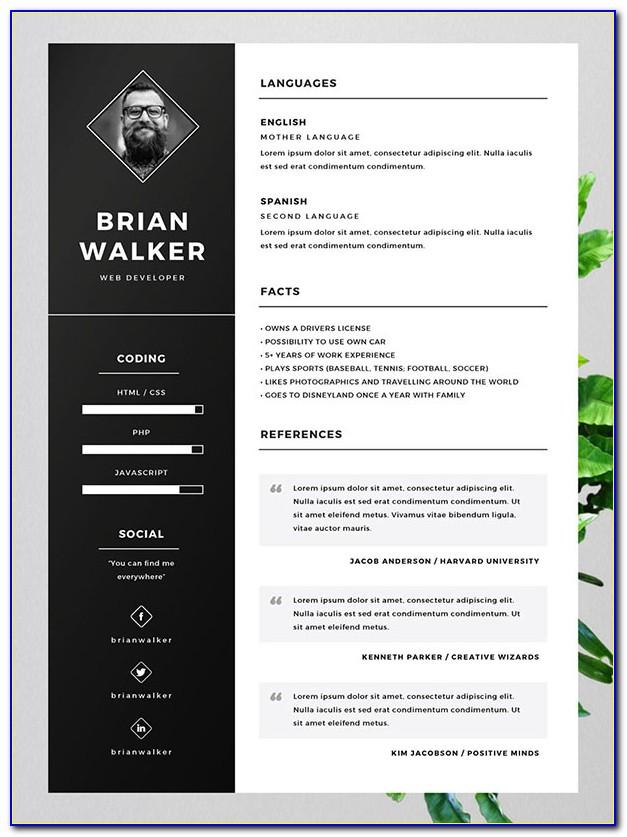 Free Resume Word Templates 2015