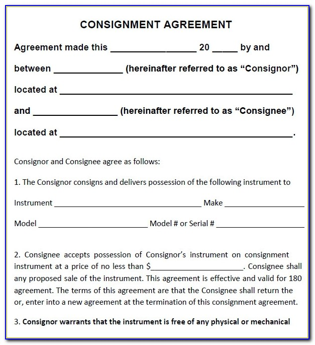Free Retail Installment Contract Template