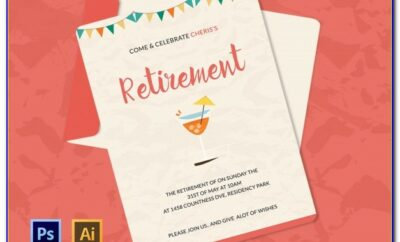 Free Retirement Lunch Invitation Template