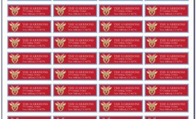 Free Return Address Label Templates Online