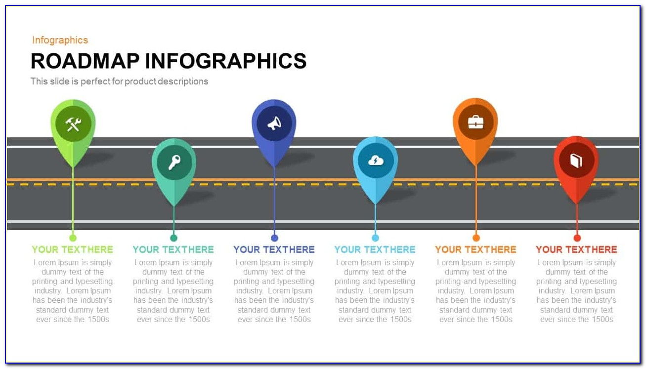 Free Roadmap Template Powerpoint Download