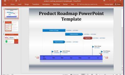 Free Roadmap Template Word