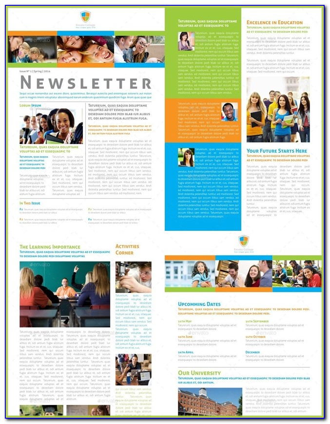 Free School Counseling Brochure Template
