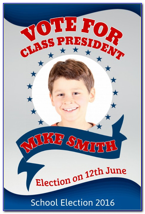 Free School Election Poster Template