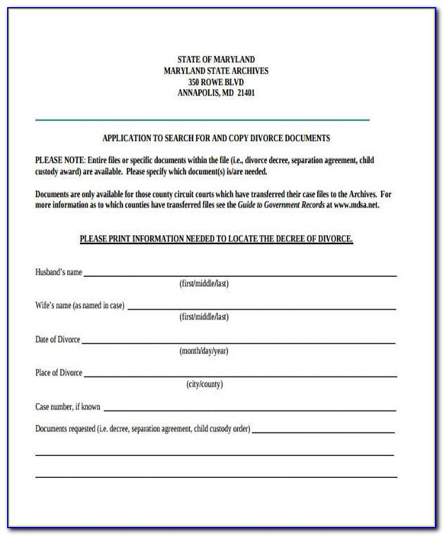 Free Separation Agreement Template Ontario