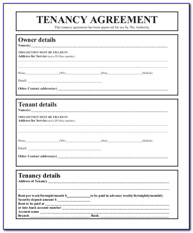 Free Shorthold Tenancy Agreement Form Download