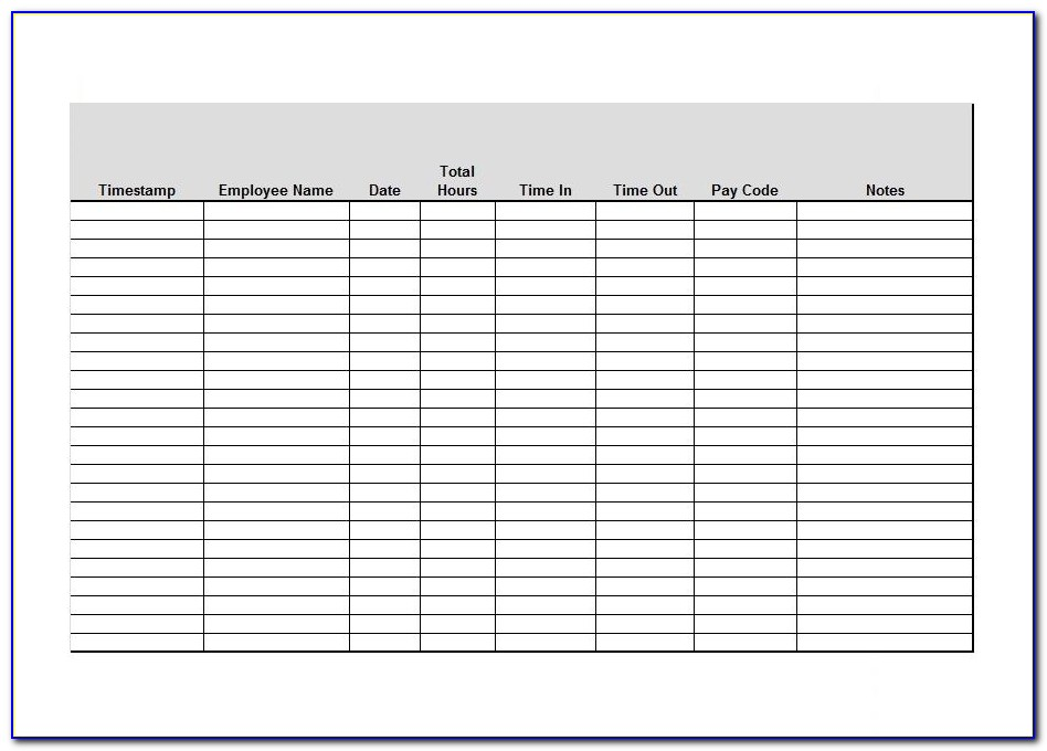 Free Small Business Expense Spreadsheet Template