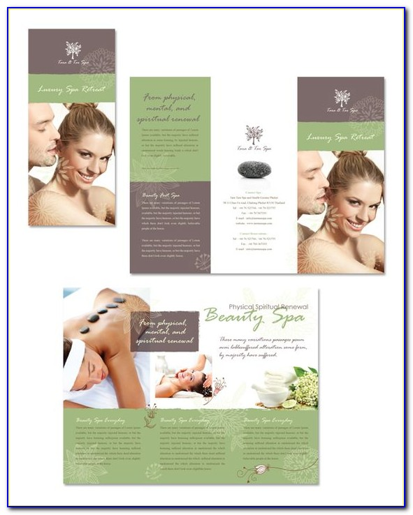 Free Spa Day Flyer Templates