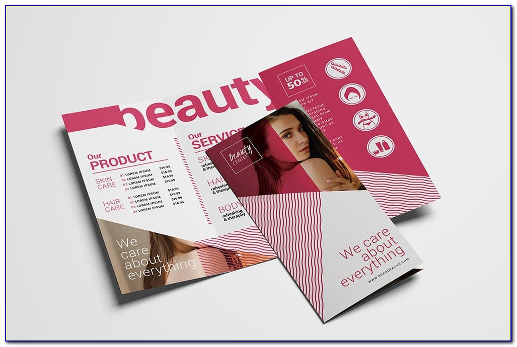 Free Spa Menu Of Services Template