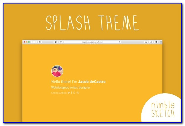Free Splash Page Templates Download