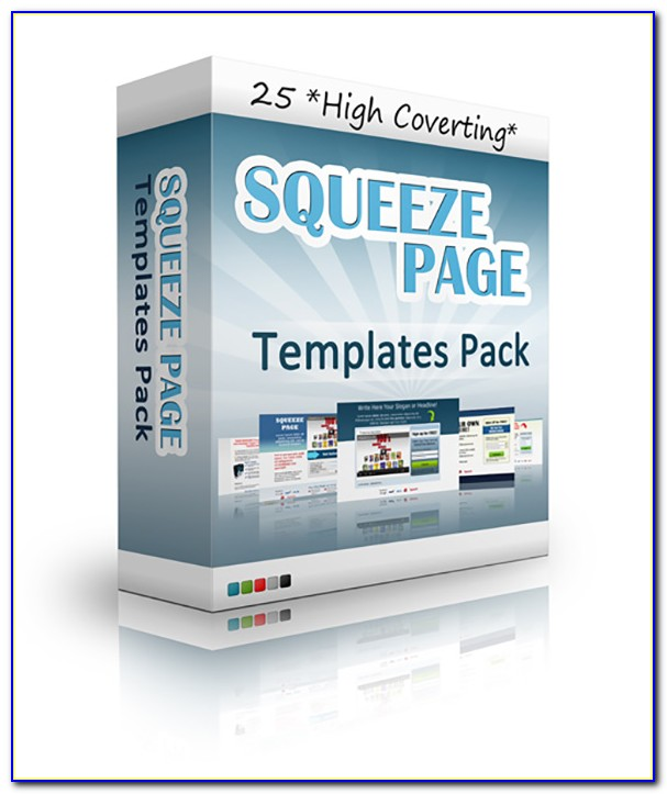 Free Squeeze Page Template Blogger
