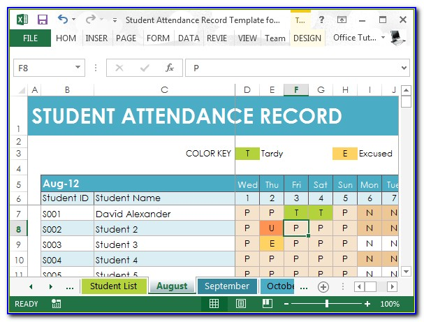 Free Student Budget Worksheet Template