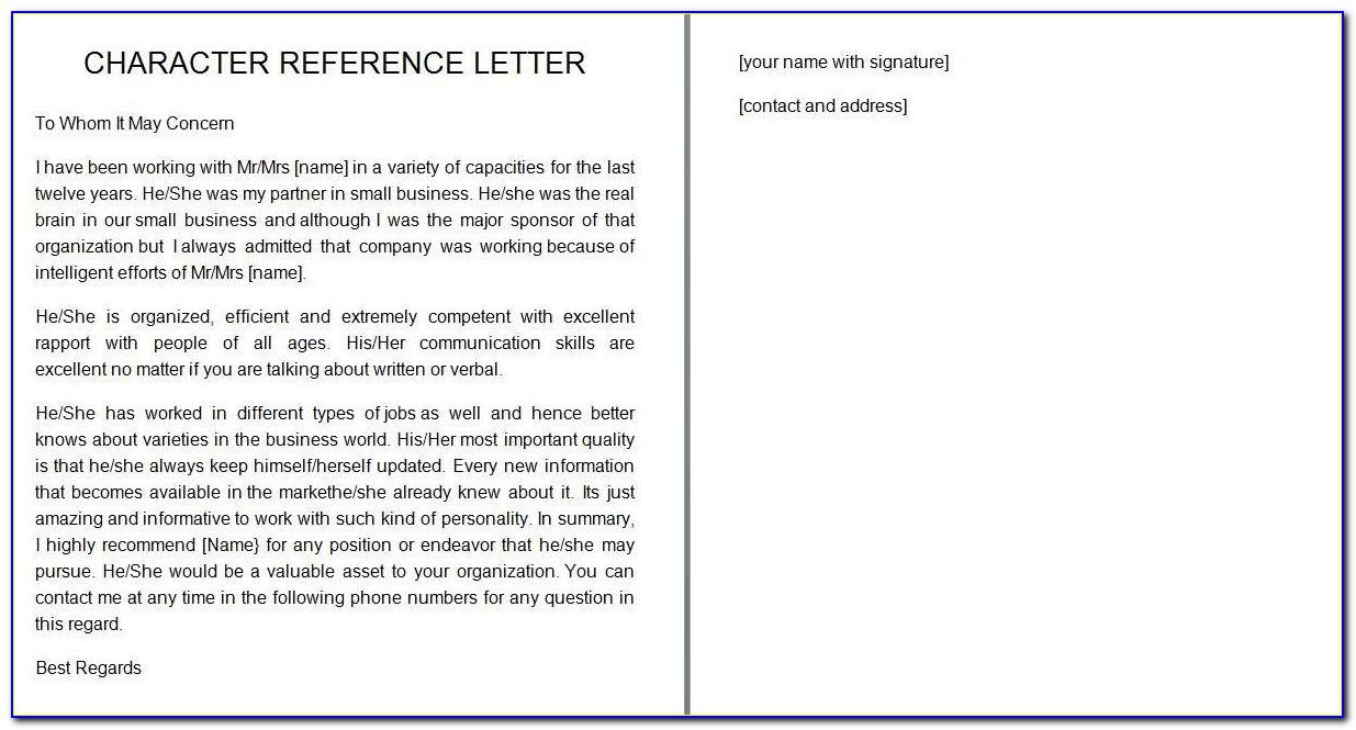 Free Teacher Recommendation Letter Sample