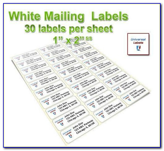 Free Template For Address Labels Avery 5160