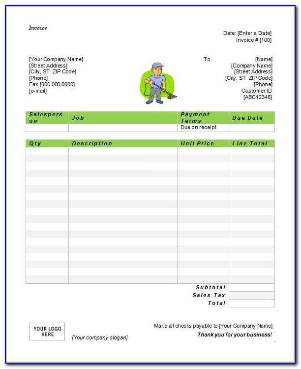 Free Template For Monthly Budget