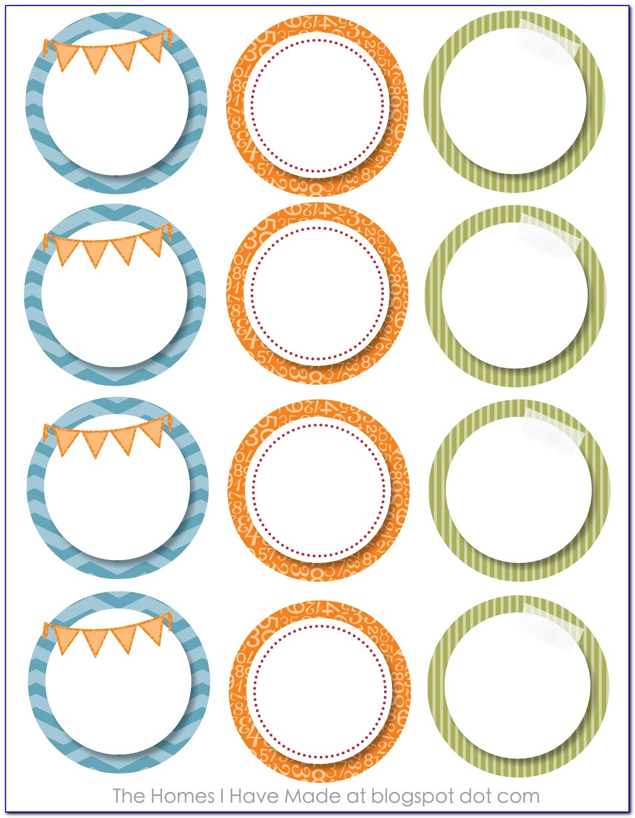 Free Templates For Avery Round Labels