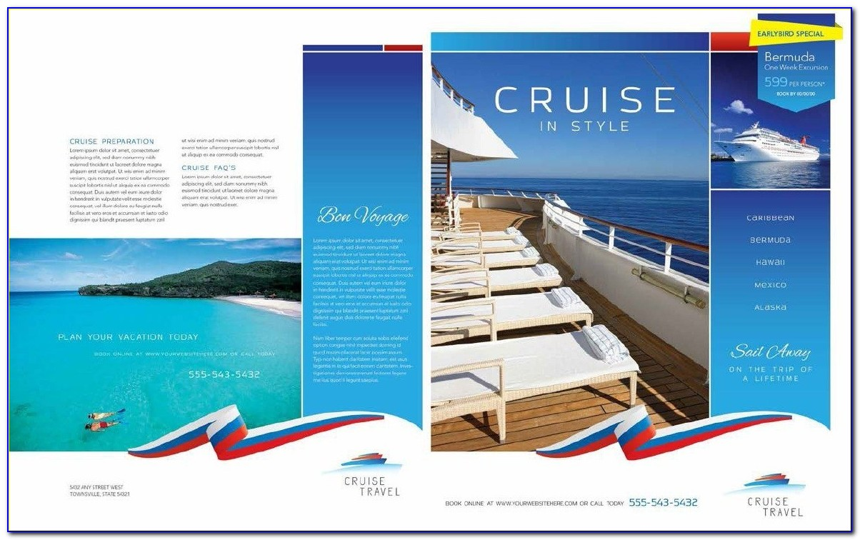 Free Travel Flyer Template
