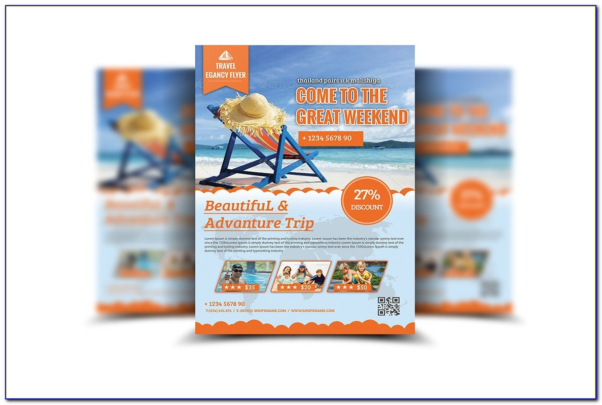 Free Travel Flyer Templates Psd