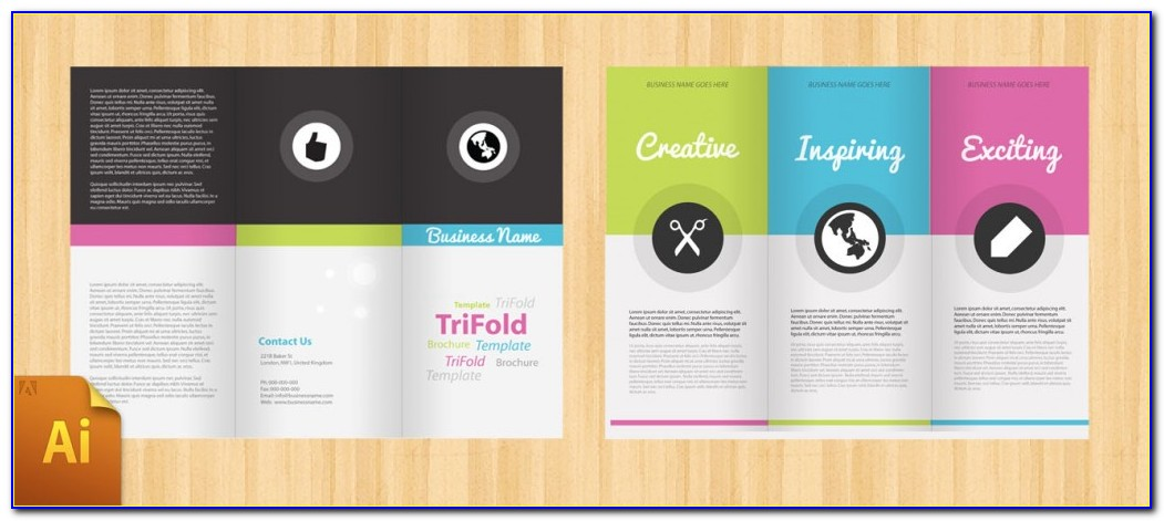 Free Tri Fold Brochure Template For Publisher