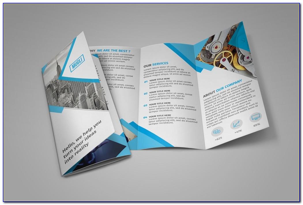 Free Tri Fold Brochure Template Indesign