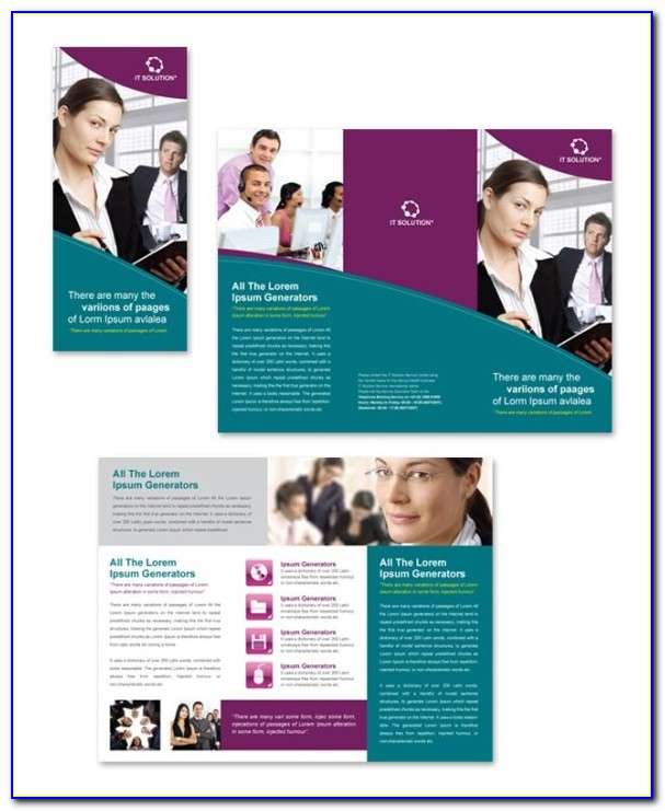 Free Tri Fold Brochure Template Microsoft Publisher