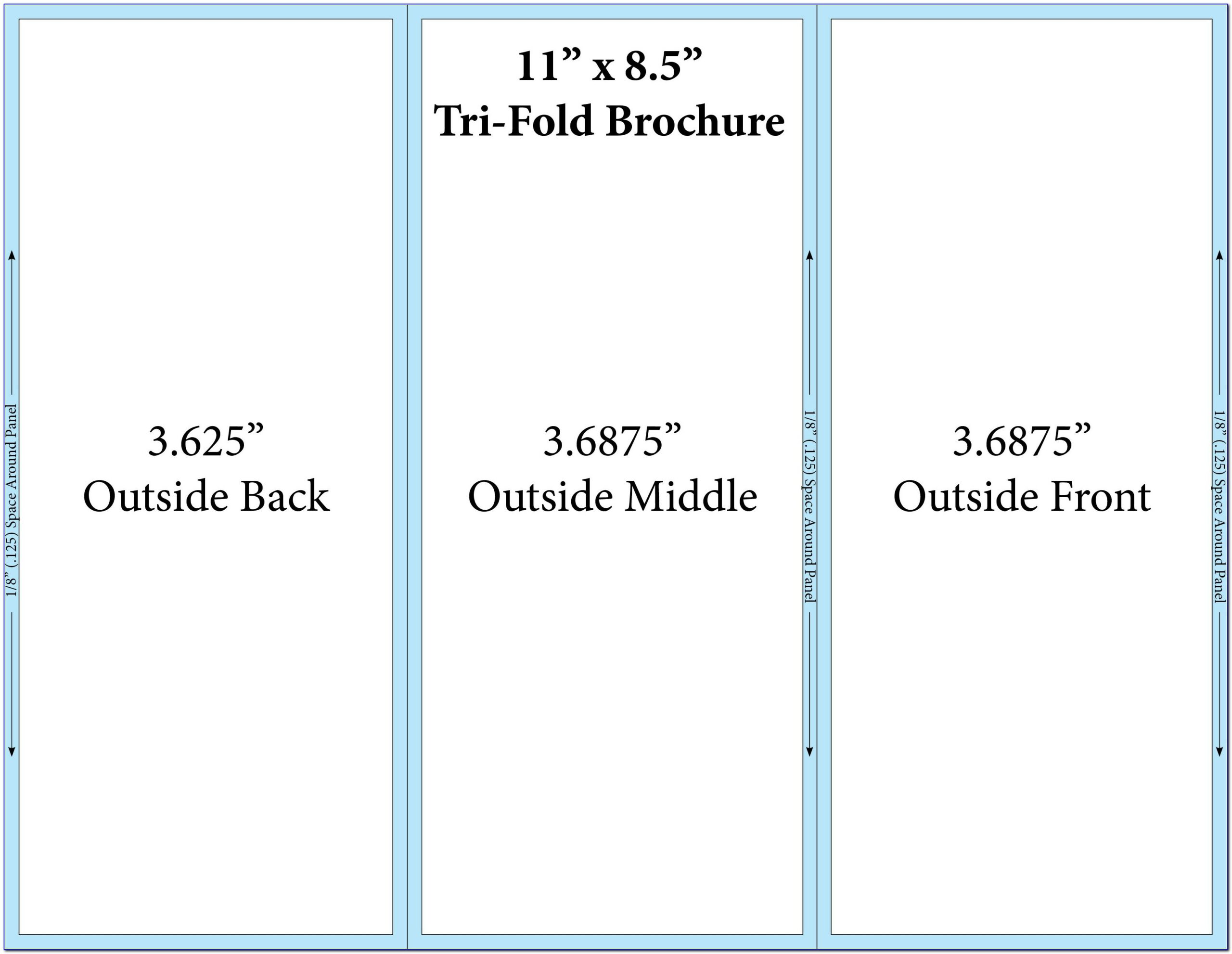 Free Tri Fold Brochure Templates Cdr
