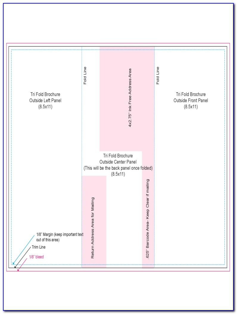 Free Tri Fold Brochure Templates Download