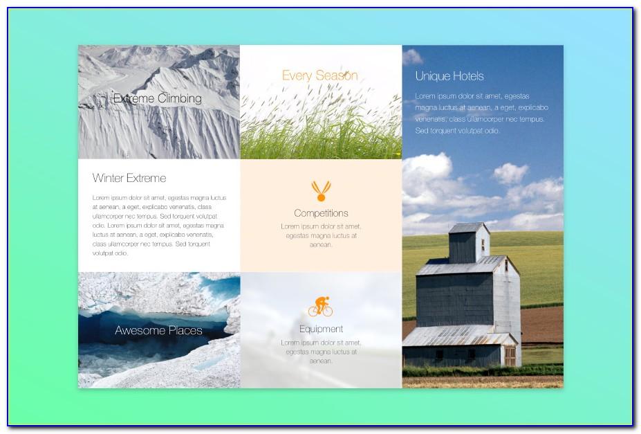 Free Tri Fold Brochure Templates For Mac