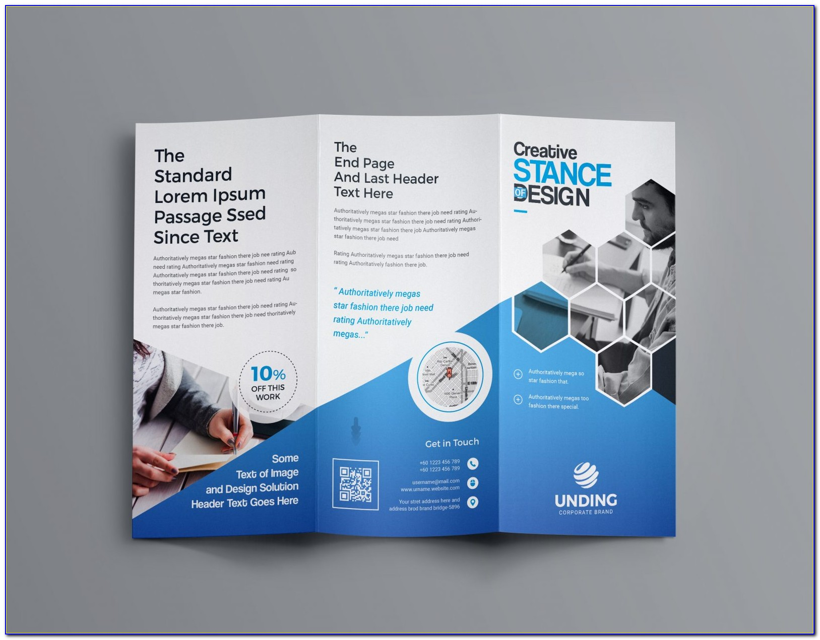 Free Tri Fold Brochures Templates Downloads