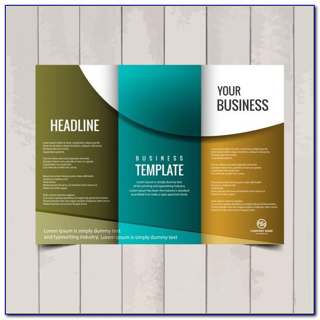 Free Tri Fold Funeral Brochure Template