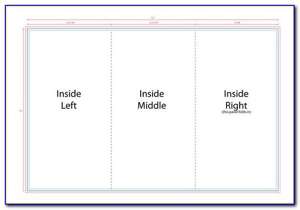 Free Tri Fold Templates Word