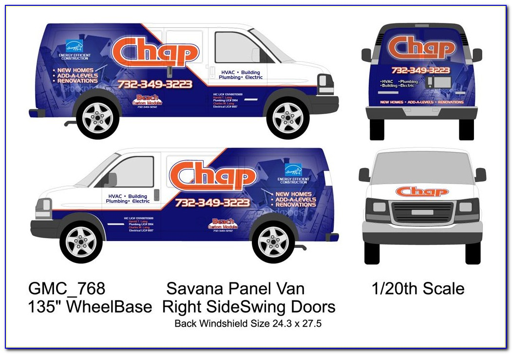 Free Vehicle Wrap Design Templates