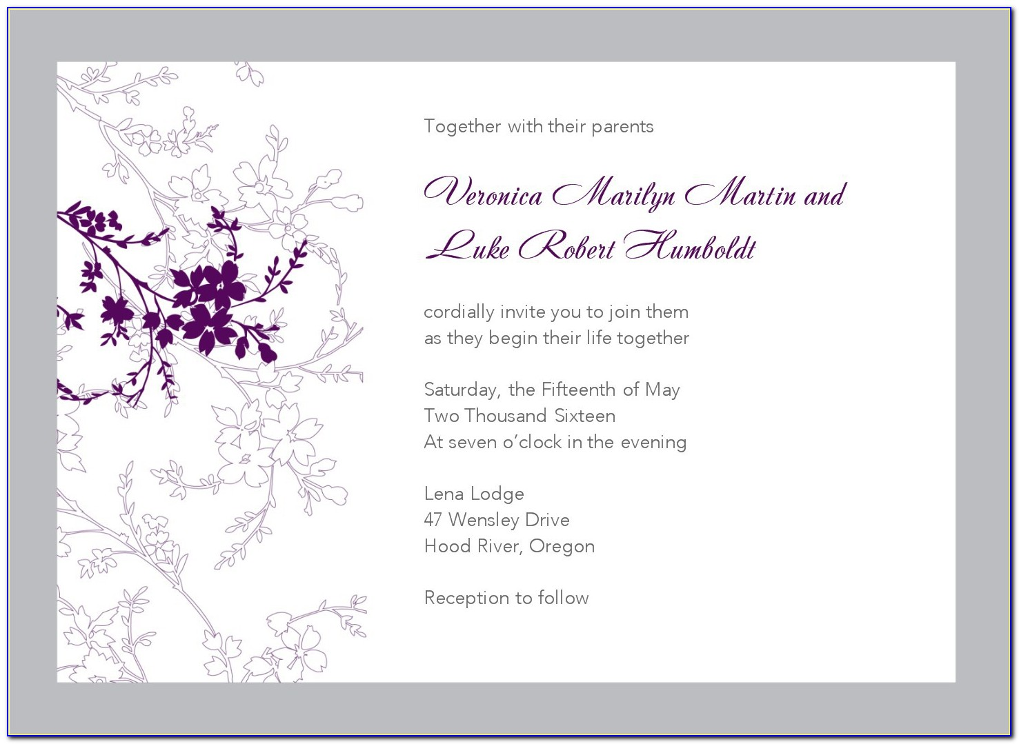 Free Wedding Invitation Templates Download And Print