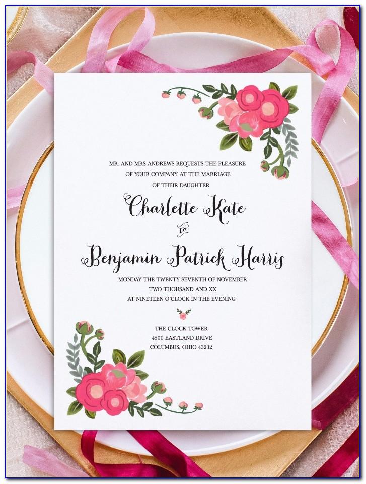Free Wedding Seating Plan Template