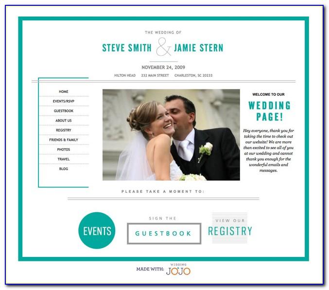 Free Wedding Website Templates Download