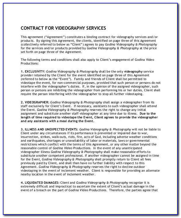 Freelance Graphic Designer Contract Template Uk