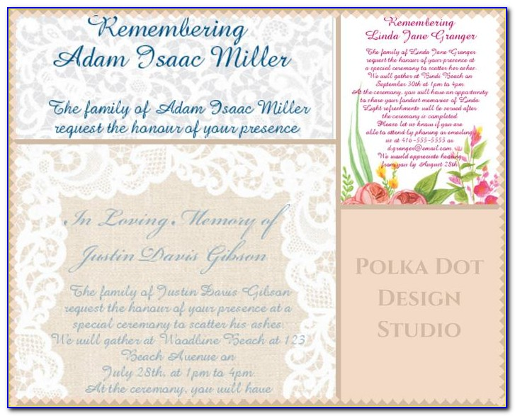 Funeral Programs Templates Free Samples
