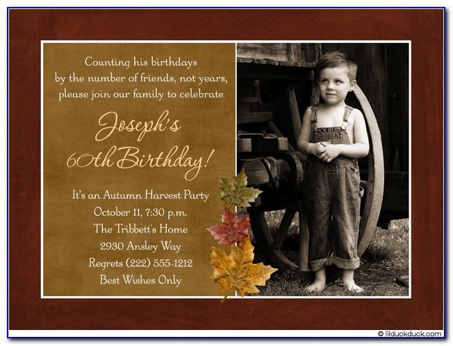 Funny 40th Birthday Invitation Templates