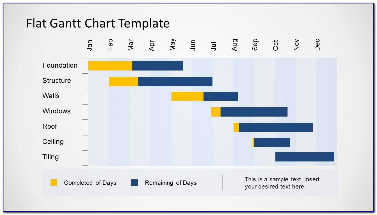 Gantt Chart Template For Excel 2013