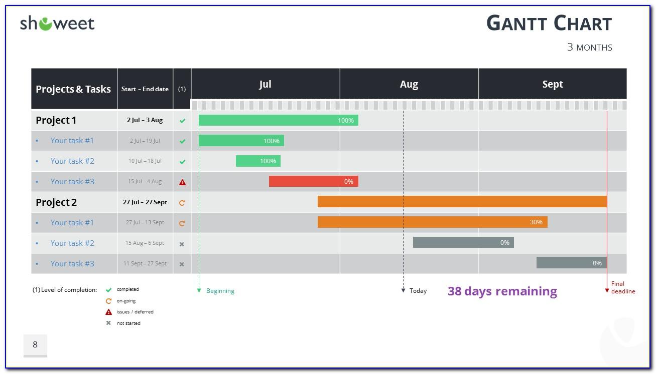 Gantt Chart Template Ms Project