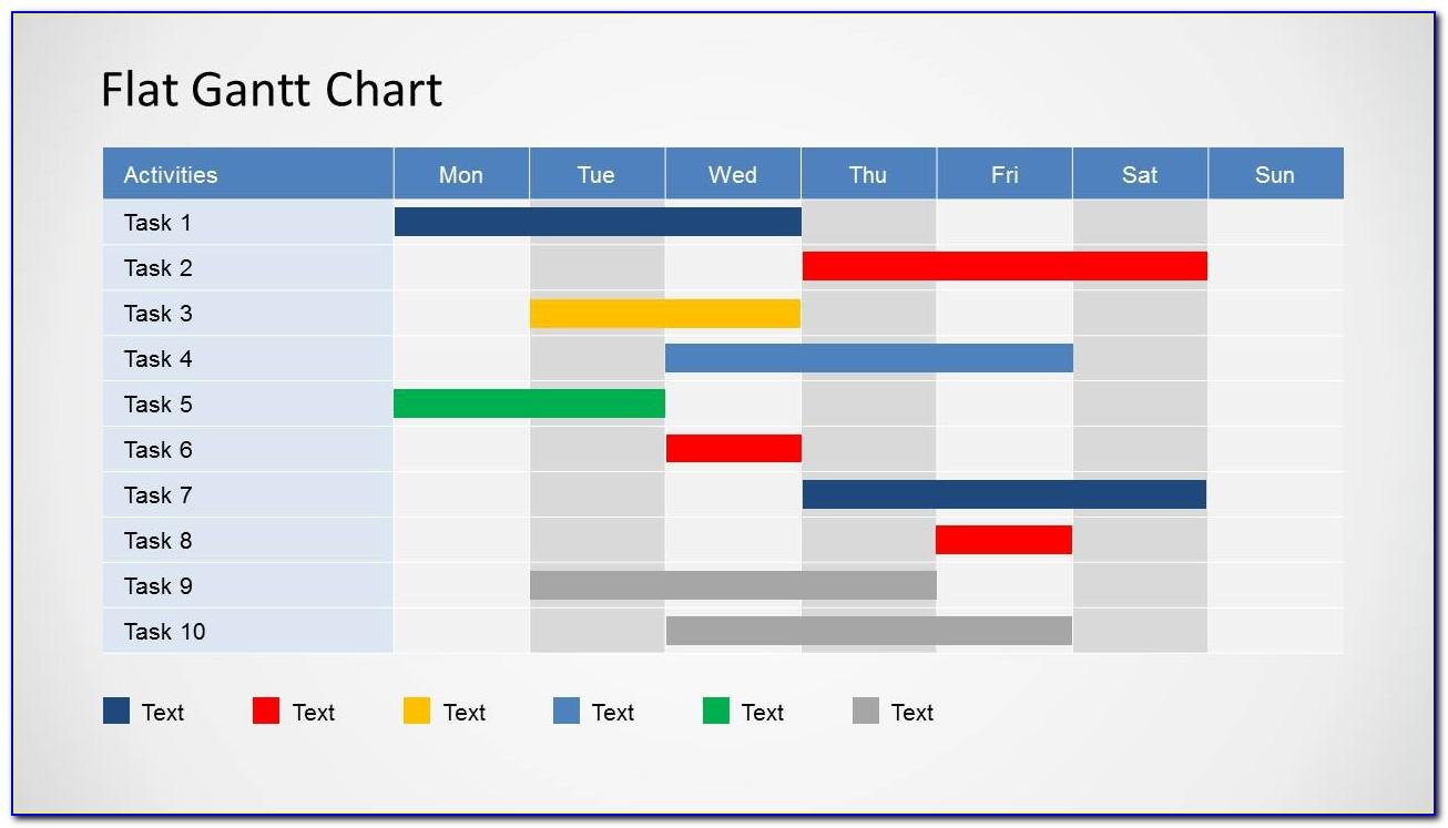 Gantt Chart Template Powerpoint Free Download